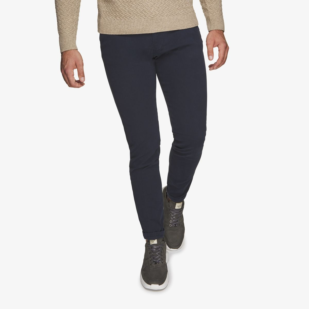 Chino Stretch Donkerblauw