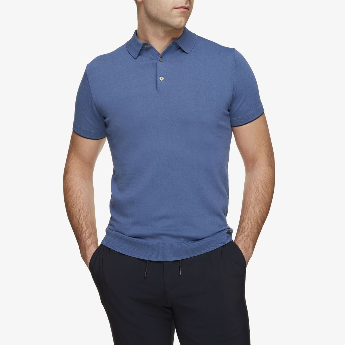 Cool Dry Polo Blauw