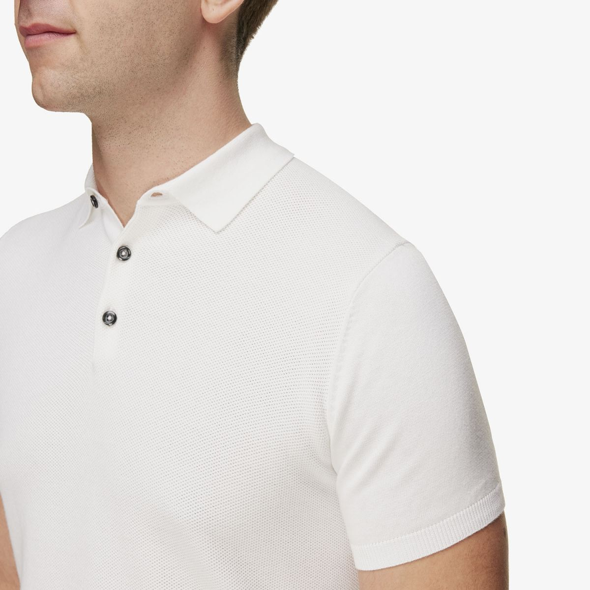 Luxe Polo Wit
