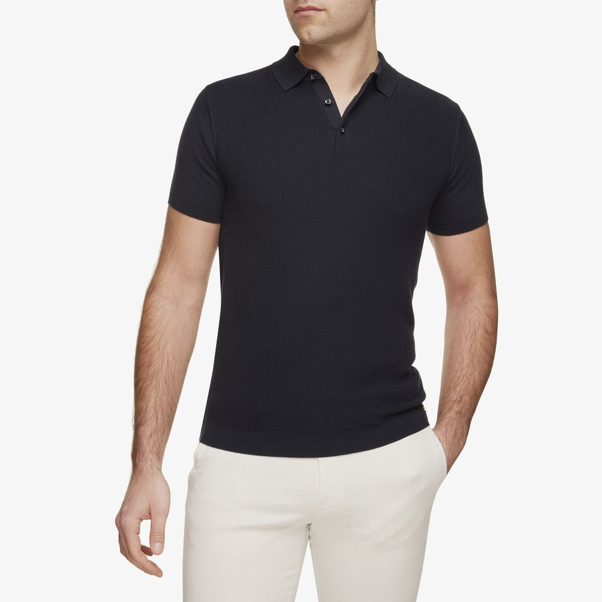 Luxe Polo Donkerblauw