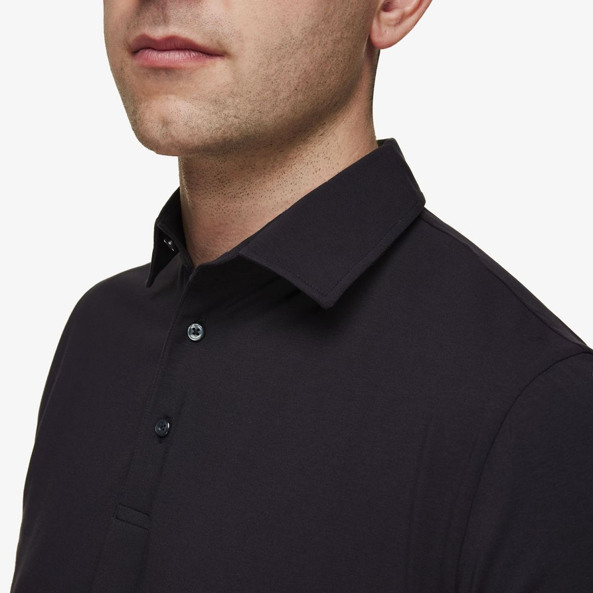Gold Ice Cotton Polo Donkerblauw